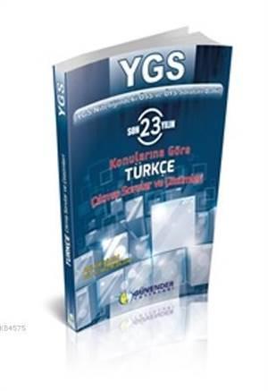 YGS Türkçe Çıkmış Sorular