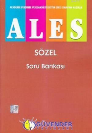 ALES - Sözel Soru Bankası