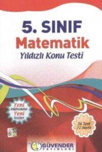 Güvender 5. Sınıf Matematik Konu Testi