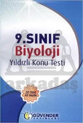 Güvender 9. Sınıf Biyoloji Konu Testi
