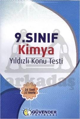Güvender 9. Sınıf Kimya Konu Testi