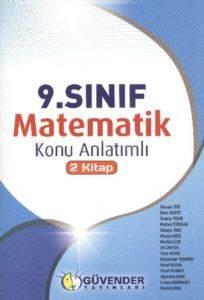 9.Sınıf Matematik Konu Anlatımlı 2 Kitap
