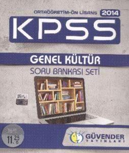 Güvender Kpss Ortaöğretim Önlisans Genel Kültür Soru Bankası