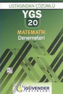 Güvender Ygs Ustasindan Çözümlü 20 Matematik Denemeleri