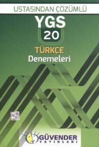 Güvender Ygs Ustasindan Çözümlü 20 Türkçe Denemeleri