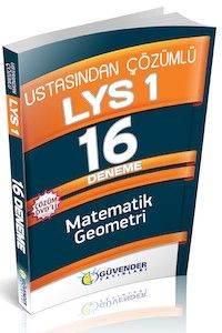 Güvender LYS 1 16 Deneme DVD'li ( Matematik-Geometri )