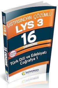 Güvender LYS 3 16 Deneme DVD'li ( Türk Dili ve Edebiyatı-Coğrafya 1)