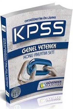 KPSS Ortaöğretim Önlisans Genel Yetenek Seti