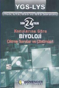 Güvender YGS-LYS Biyoloji Çıkmış Sorular ve Çözümleri (son 24 Yıl)