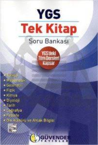 Güvender YGS Tek Kitap Soru Bankası Tüm Dersler
