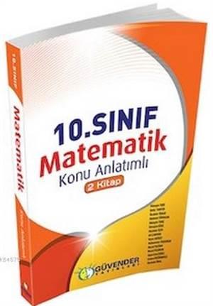 10. Sınıf Matematik Konu Anlatımlı - 2 Kitap
