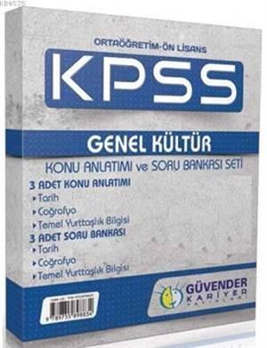 Kpss Ortaöğretim-Önlisans Genel Kültür Konu Anlatım Ve Soru Bankası Seti