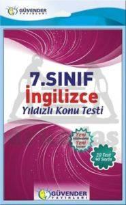 Güvender 7. Sınıf İngilizce Poşet Test 20 Adet