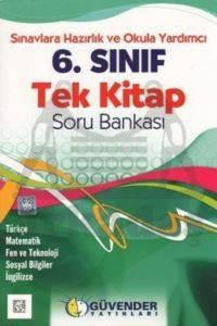 Güvender 6. Sınıf Tek Kitap Soru Bankası