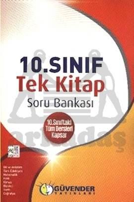 Güvender 10. Sınıf Tek Kitap Soru Bankası