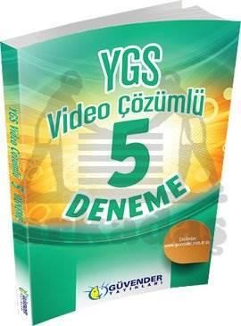 Güvender YGS 5 Video Çözümlü Deneme