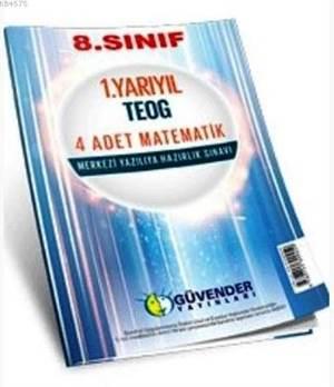 8. Sınıf 1. Yarıyıl TEOG 4 Adet Matematik; Merkezi Yazılıya Hazırlık Sınavı