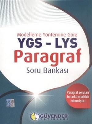 YGS LYS Paragraf Soru Bankası; Modelleme Yöntemine Göre