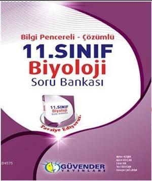 11. Sınıf Biyoloji Bilgi Pencereli Çözümlü Soru Bankası