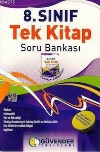 8. Sınıf Tek Kitap Soru Bankası