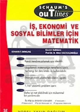 İş, Ekonomi ve Sosyal Bilimler İçin Matematik