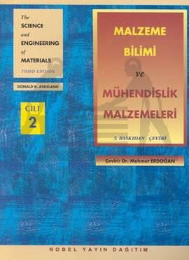 Malzeme Bilimi ve Mühendislik Malzemeleri Cilt 2