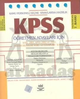 KPSS Kamu Personeli Seçme Sınavlarına Hazırlık Öğretmen Adayları İçin