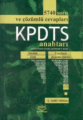 KPDTS Anahtarı 5740 Soru ve Çözümlü Cevapları 5 Orijinal Deneme Sınavı - Sözlük Ekli