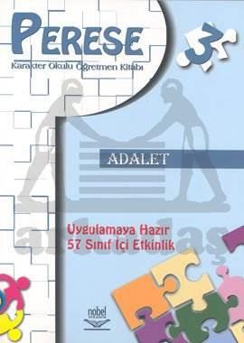 Perese Karakter Okulu Öğretmen Kitabı 3: Adalet