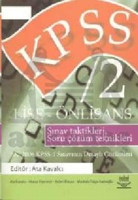 KPSS 2 / Lise - Önlisans EK: 2006 KPSS- 1 Sınavının Detaylı Çözümleri