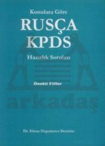 Konulara Göre Rusça KPDS Hazırlık Soruları Önekli Fiiller