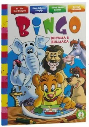 Bingo Boyama Ve Bulmaca Kitabı