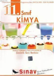 11. Sınıf Kimya Çözümlü Soru Bankası