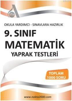 9. Sınıf Matematik Yaprak Test; Okula Yardımcı - Sınavlara Hazırlık