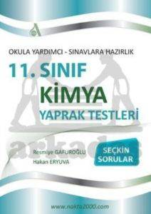 11. Sinif Kimya Yaprak Testleri