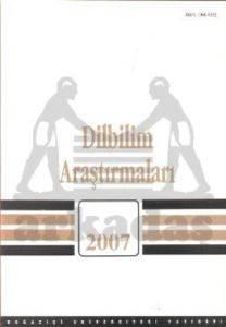 Dilbilim Araştırmaları 2007