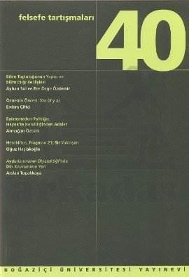 Felsefe Tartışmaları 40