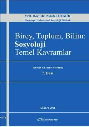 Birey, Toplum, Bilim: Sosyoloji Temel Kavramlar