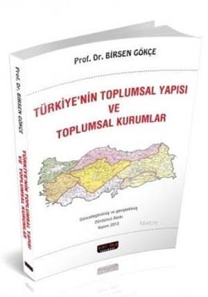 Türkiyenin Toplumsal Yapısı
