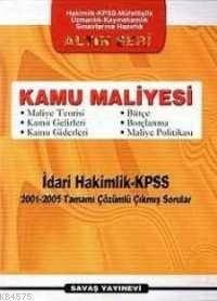 Kamu Maliyesi İdari Hakimlik - KPSS 2001 - 2005 Tamamı Çözümlü Çıkmış Sorular