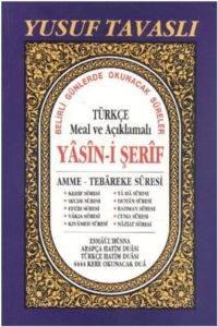 Türkçe Meal ve Açıklamalı Yasin-i Şerif Dergi Boy