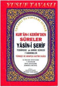 Kur'an-ı Kerim'den Sureler Yasin-i Şerif Cep Boy