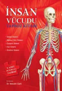 İnsan Vücudu Yapboz Kitabı