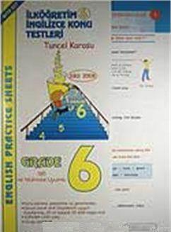 Ilkögretim 6 Ingilizce Konu Testleri; English Practise Sheets
