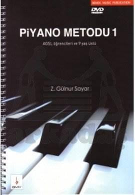 Piyano Metodu 1 +Dvd