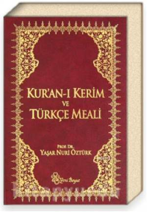 Kuranı Kerim Ve Türkçe Meali (Bordo Ciltli)