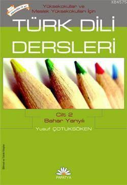 Türk Dili Dersleri 2 (MYO Için)