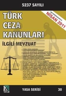 Türk Ceza Kanunları İlgili Mevzuat