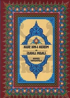 Kur'an-ı Kerim ve İzahlı Meali Ahmed Davudoğlu - Cami Boy