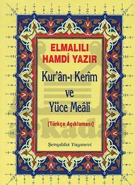 Kur'an-ı Kerim ve Yüce Meali Elmalılı M. Hamdi Yazır - Cami Boy